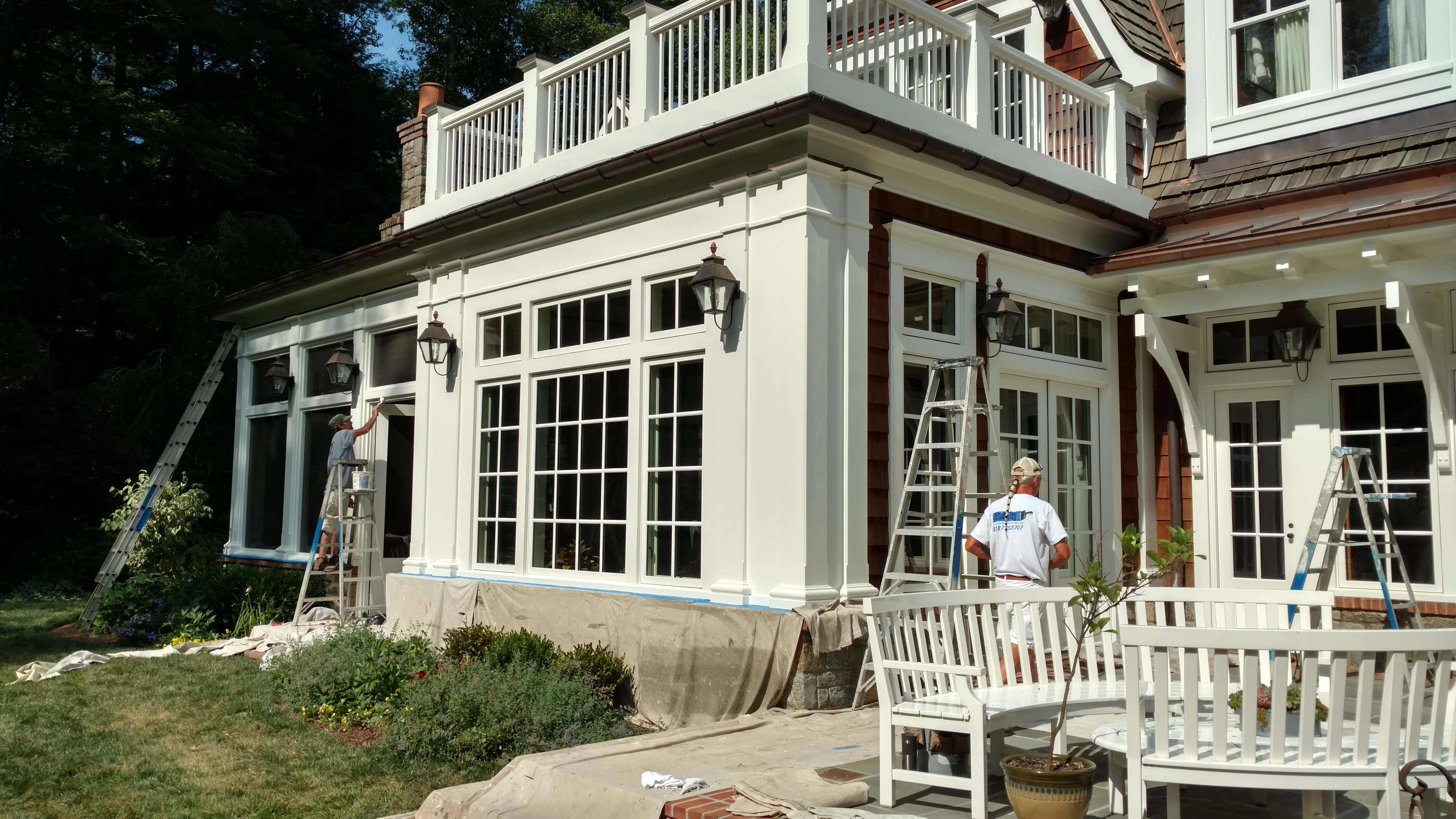 Asheville exterior painter