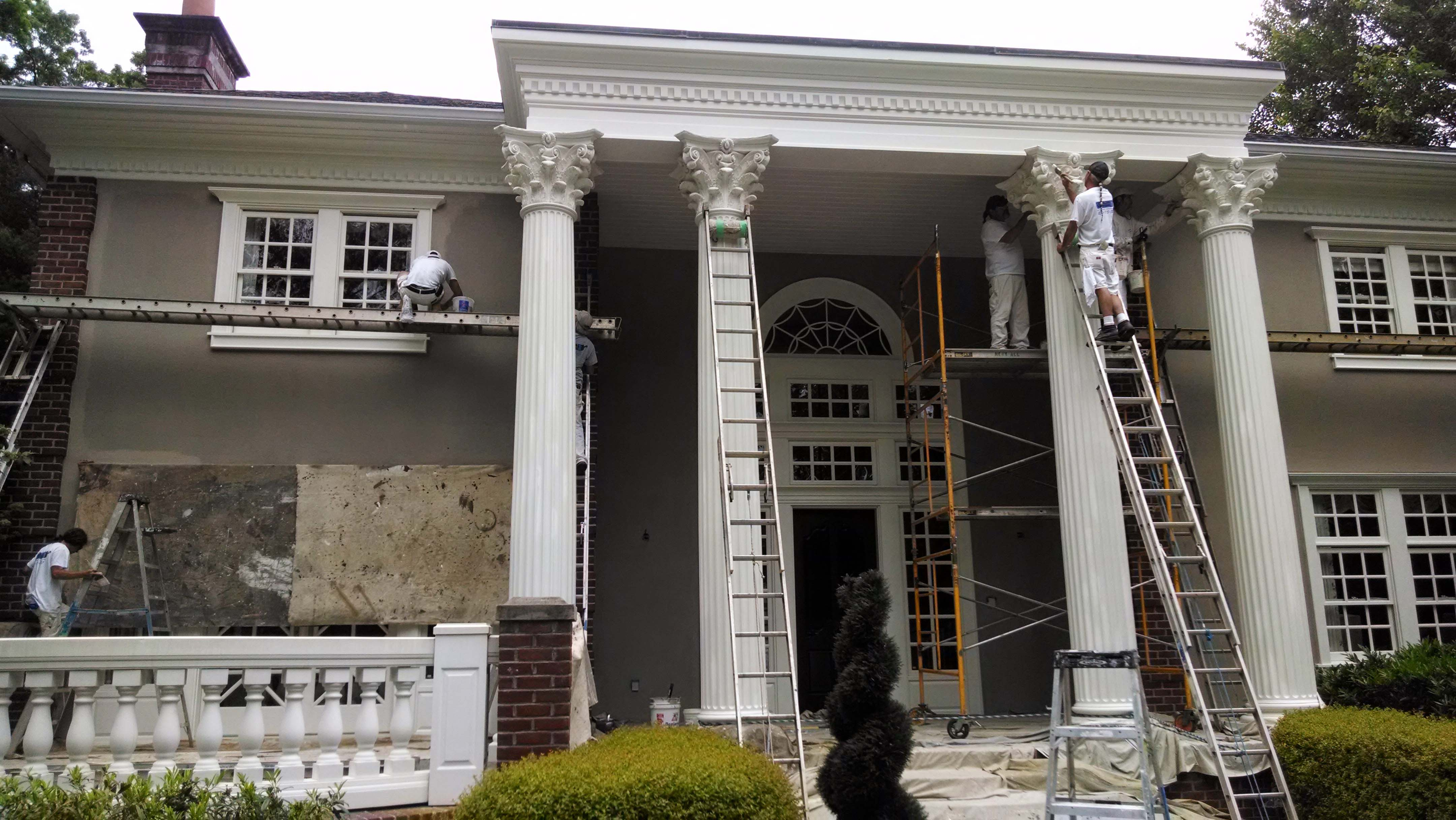 Historic Home Painting in Asheville