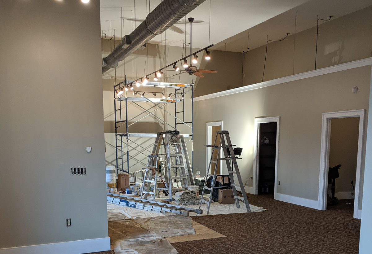 commercial painter in Asheville