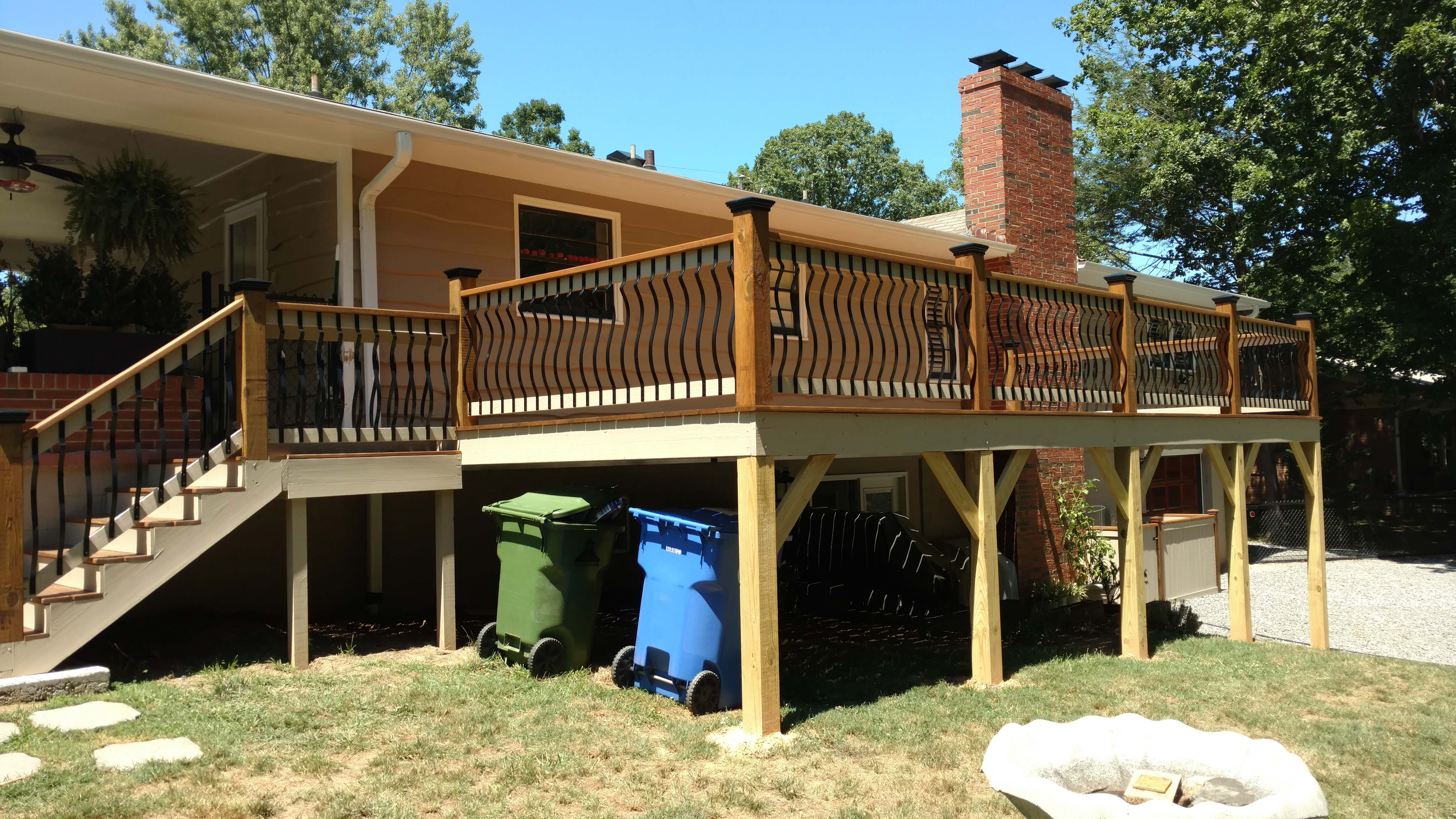 deck-stain-Asheville