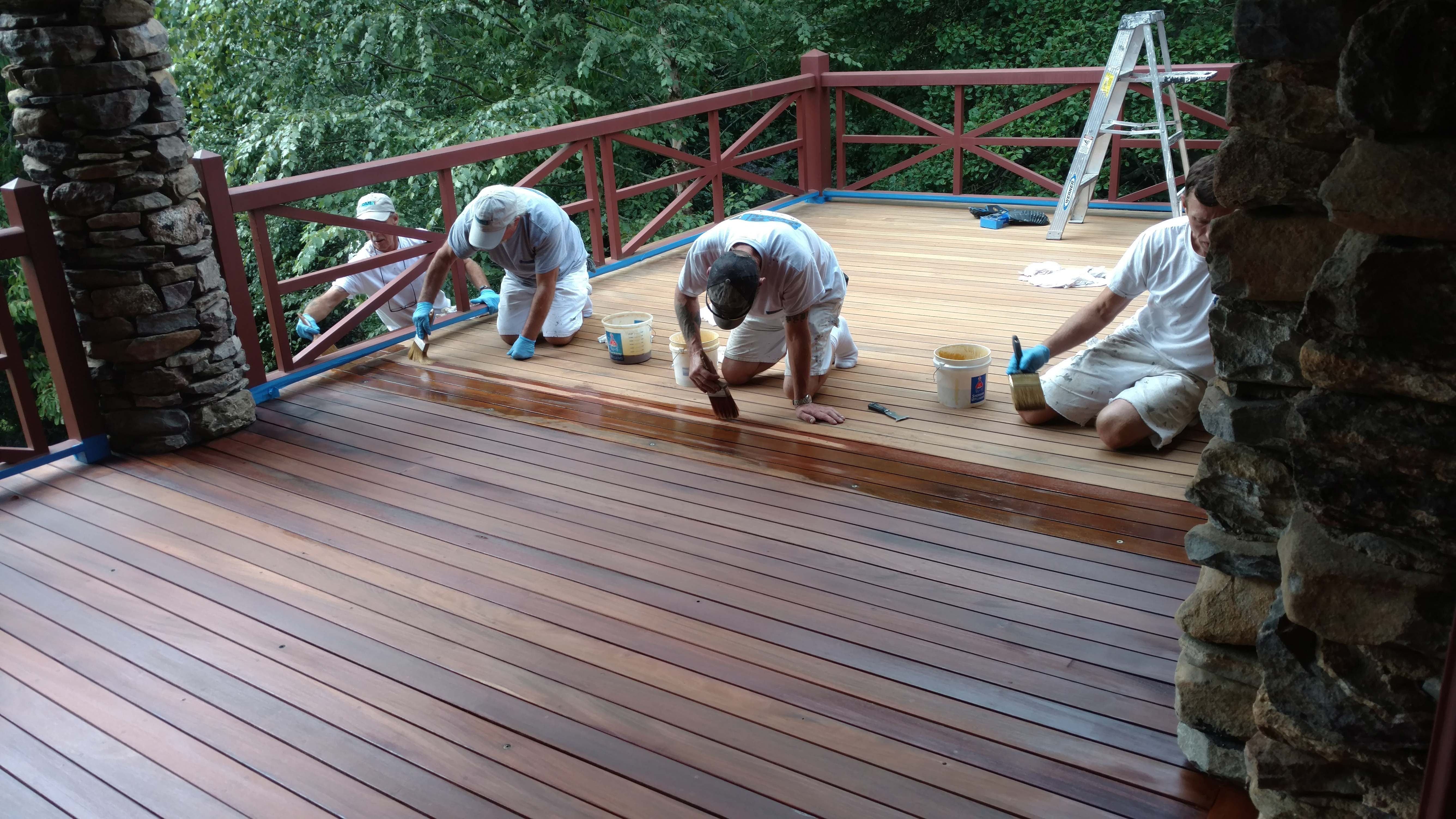 exterior-wood-staining-asheville