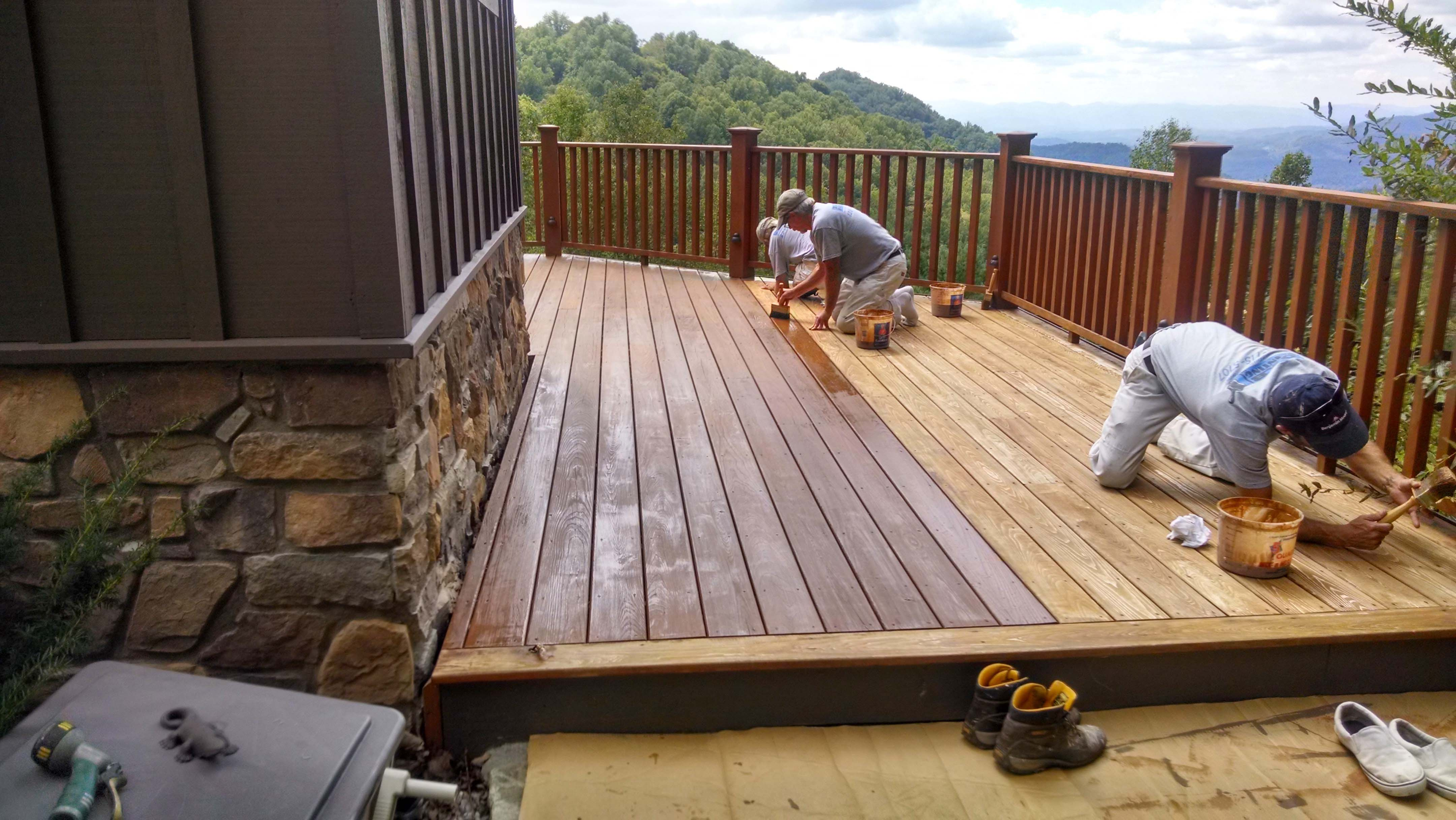 wood-staining-Asheville