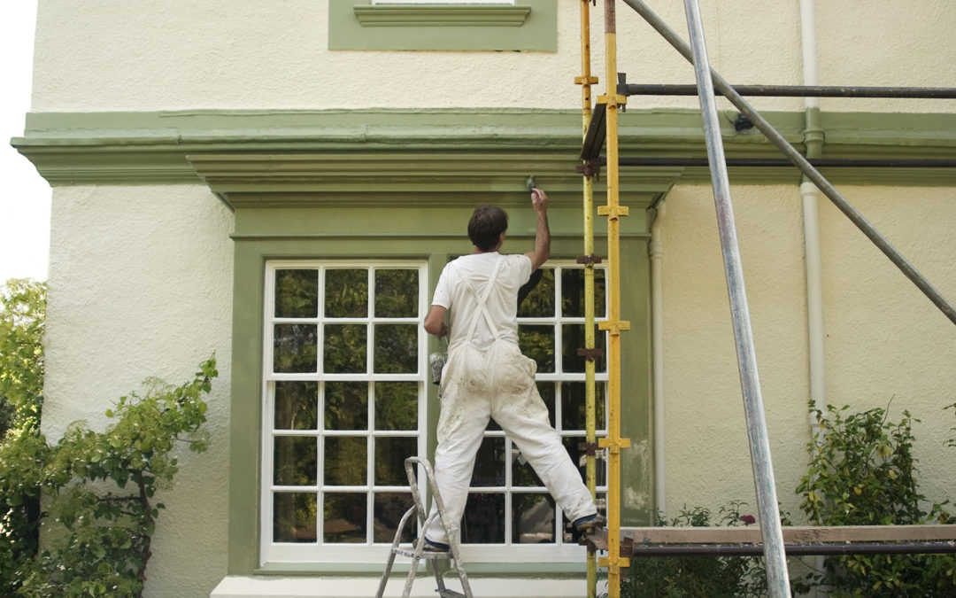 Exterior House Painting Process – Step by Step