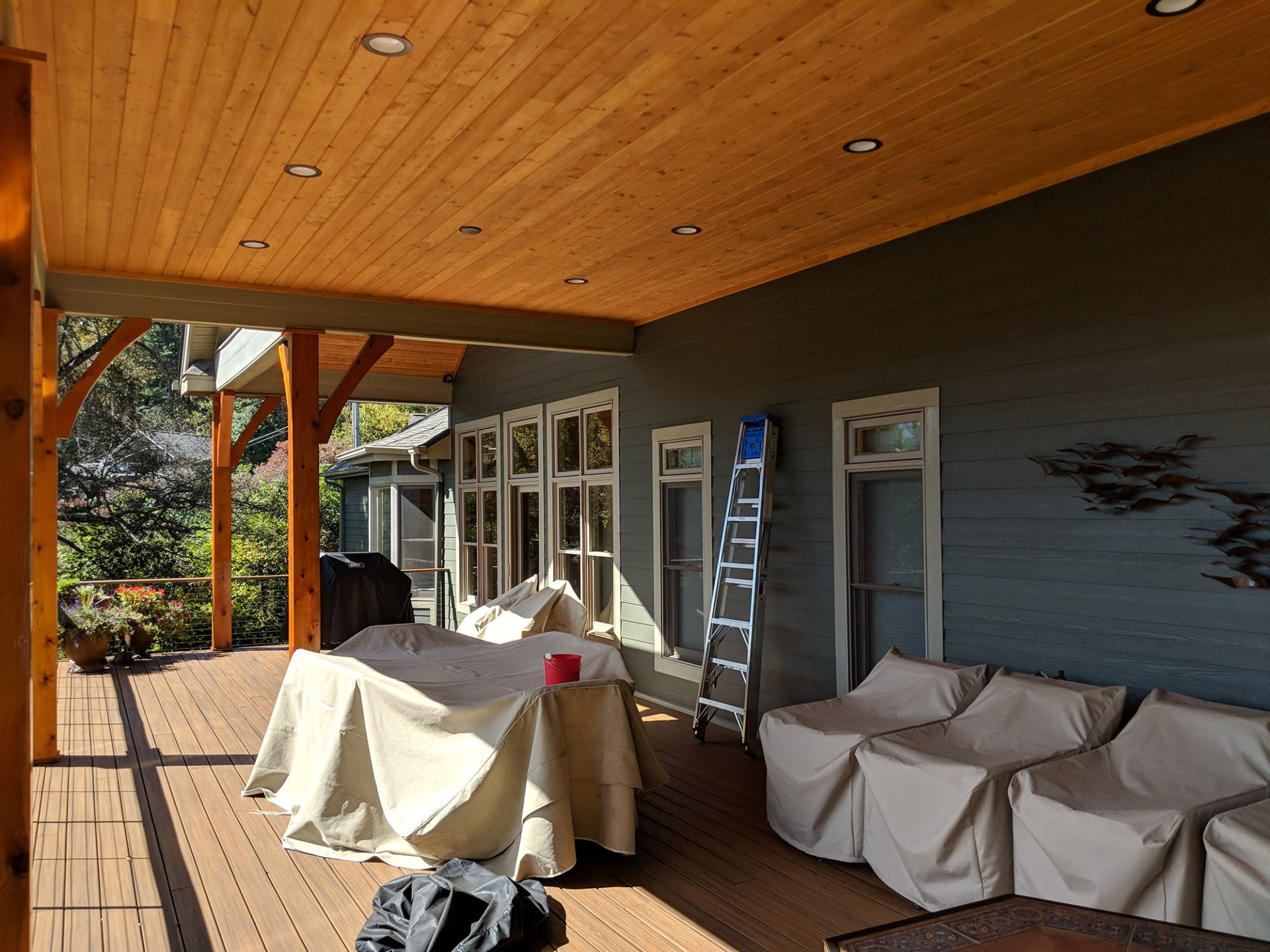 Exterior house painter Asheville