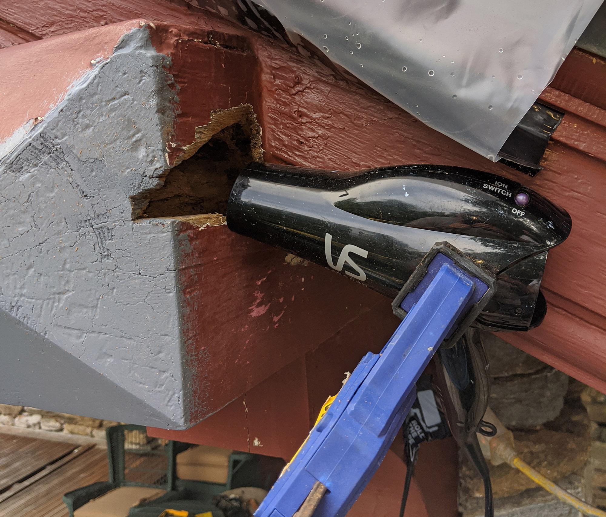 home exterior wood repair